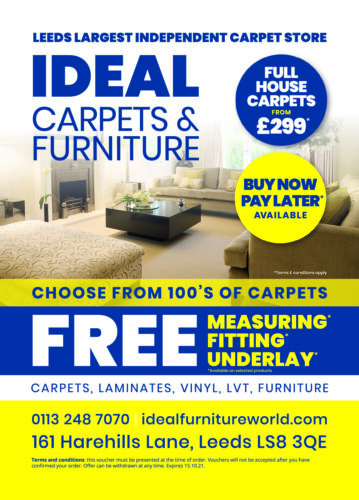 Ideal Carpets Voucher