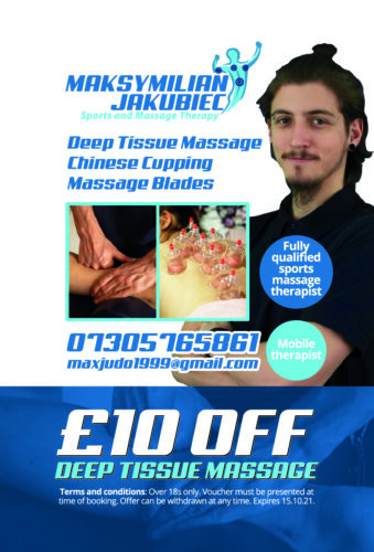 M.J Sports and Massage Therapy Voucher