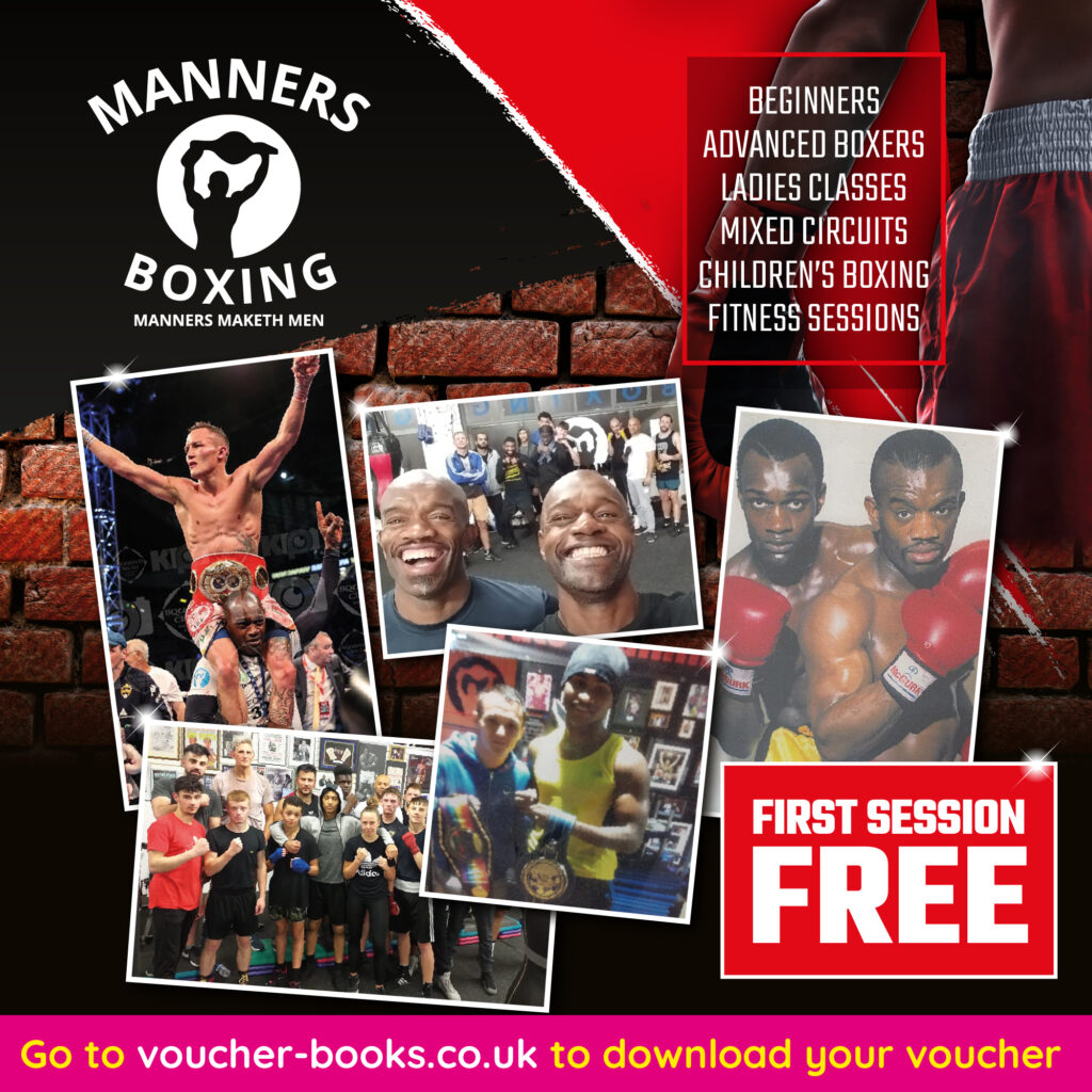 Manners Boxing - LSAUG21