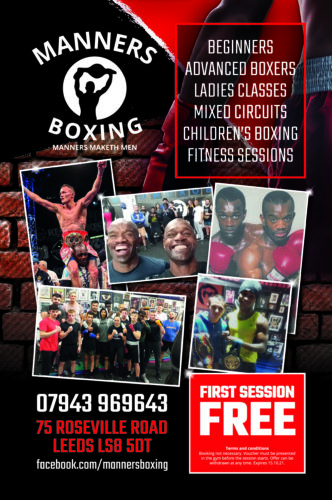 Manners Boxing Voucher