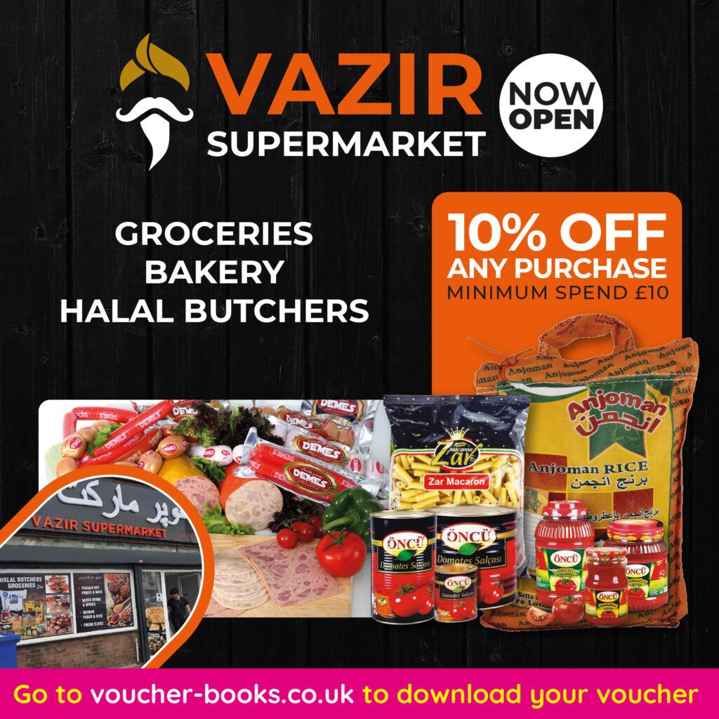 Vazir Supermarket - LSAUG21