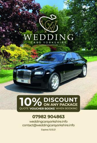 Wedding Cars Yorkhire Voucher